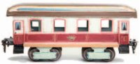 Maerklin Railway-Passenger Cars Dining Car #1842/1...