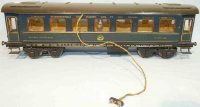 Maerklin Railway-Passenger Cars Dining car #1846/1 G wih...
