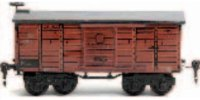 Maerklin Railway-Freight Wagons Box car #1926/0 with...