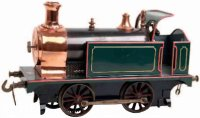 Bing Railway-Locomotives Spirit tender steam locomotive...
