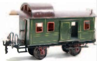 Maerklin Railway-Passenger Cars Baggage car #1846/II with...