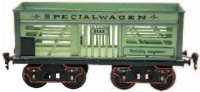Maerklin Railway-Freight Wagons Gondola #1870/II with...