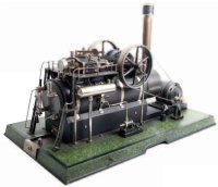 Maerklin Steam Engines-stationary-Lokomobile Locomobile...