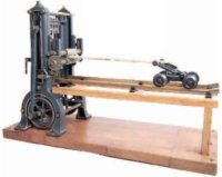 Bing Steam Toys-Drive Models Frame saw #9956/436 made of...