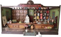 Maerklin Tin-Toys Shop Colonialwaaren. A shop made...