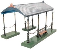 Maerklin Railway-Platforms Entrance hall #02059 with...