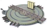 Maerklin Railway-Rails/Power Turntable #2132/II green and...
