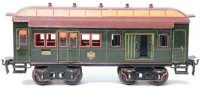 Maerklin Railway-Passenger Cars Mail and baggage car...