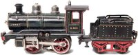 Maerklin Railway-Locomotives Heavy-current steam...