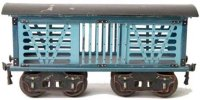 Maerklin Railway-Freight Wagons American cattle car...