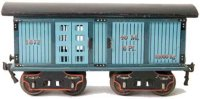 Maerklin Railway-Freight Wagons Amercian good or horse...