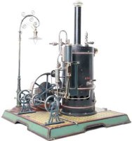 Maerklin Steam-Toys-Vertical-Steam-Engines Standing steam...