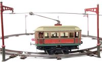 Carette Tin-Trams Tram system, electric motor car 20V,...