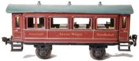 Maerklin Railway-Passenger Cars Dining Car #1942/1 with...