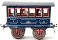 Maerklin Railway-Passenger Cars Passenger car #1805/2...