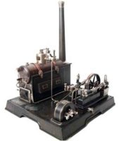 Maerklin Steam Toys-Horizontal Steam Engines Twin steam...