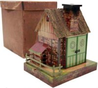 Maerklin Tin-Buildings Witch Cottage #8880 with...