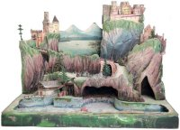 Rock & Graner Steam Toys-Drive Models Tin landscape,...