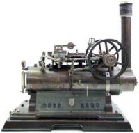 Maerklin Steam Engines-stationary-Lokomobile Stationary...