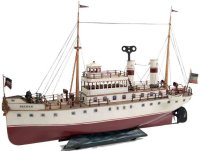 Maerklin Tin-Ships Passenger steamer #5045 BREMEN, red...