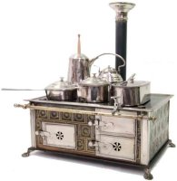 Maerklin Tin-Kitchens and Amenities Cooker with ceramic...