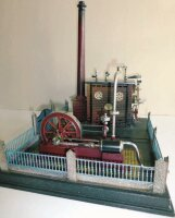 Plank Ernst Steam Toys-Horizontal Steam Engines...