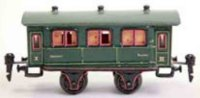 Maerklin Railway-Passenger Cars Passenger car # 1941/0...