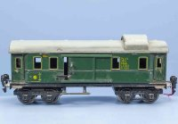 Maerklin Railway-Passenger Cars Baggage car #1754/0 with...