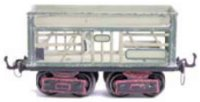 Maerklin Railway-Freight Wagons Gondola glass car #1870/0...