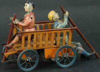 Eberl Hans Tin-Figures Motor vehicle with clockwork,...