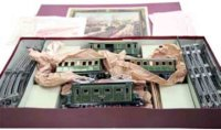 Maerklin Railway-Trains Passenger train with locomotive...