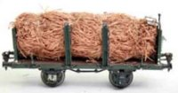 Maerklin Railway-Freight Wagons Wood wool car #1937/1 H...