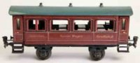 Maerklin Railway-Passenger Cars French dining car #1942/1...