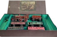 Maerklin Railway-Trains Passenger train with set box,...