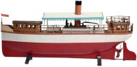 Carette Tin-Ships Steam powered steamboat with spirit...