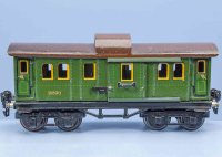 Maerklin Railway-Passenger Cars Baggage car #1889/0 with...