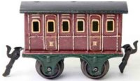 Maerklin Railway-Passenger Cars Compartment car #1855/0...