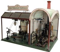 Maerklin Steam Toys-Drive Models Large workshop #4284....