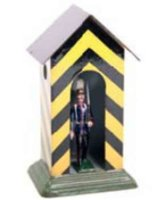 Maerklin Tin-Figures Large sentry house # 8120/3 made of...