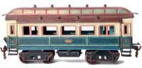 Maerklin Railway-Passenger Cars Emperor dining car...