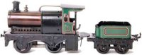 Bing Railway-Locomotives Spirit steam locomotive #11/23,...