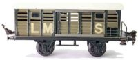 Maerklin Railway-Freight Wagons English cattle car...