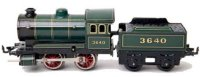 Bing Railway-Locomotives Clockwork locomotive #11/464...