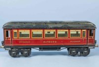 Maerklin Railway-Passenger Cars Dining Car #1886/1 Sp...