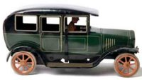 Bing Tin-Oldtimer Automobile #10/4148/2G in green with...