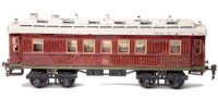 Maerklin Railway-Passenger Cars Mitropa sleeping car...