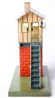Maerklin Railway-Interlockings Signal box #2140 in orange...