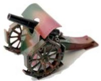 Maerklin Military Toys-Arms Mortar #8045/1, backloader...