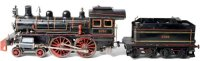 Carette Railway-Locomotives Spirit steam locomotive #...