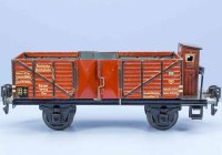Maerklin Railway-Freight Wagons High side car with...